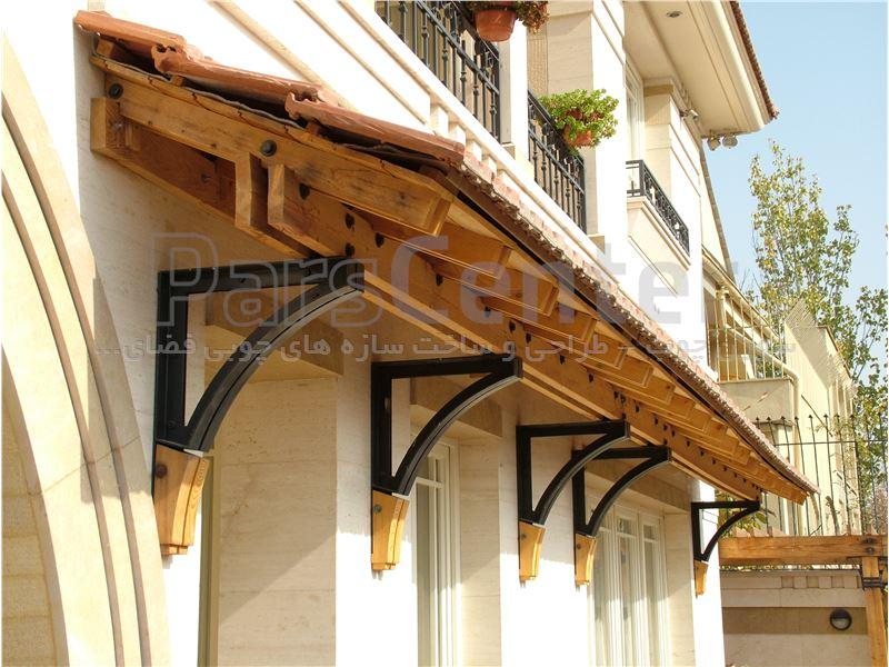 پروژه چوبی واقع در شهرک غرب
