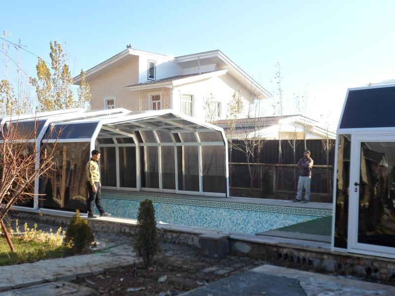 سقف  استخر آبسرد دماوند