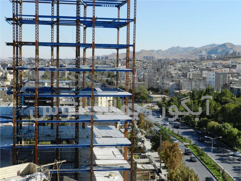 طراحی ساخت و نصب اسکلت فلزی مجتمع مسکونی - محصولات سازه های پیش ...طراحی ساخت و نصب اسکلت فلزی مجتمع مسکونی ...
