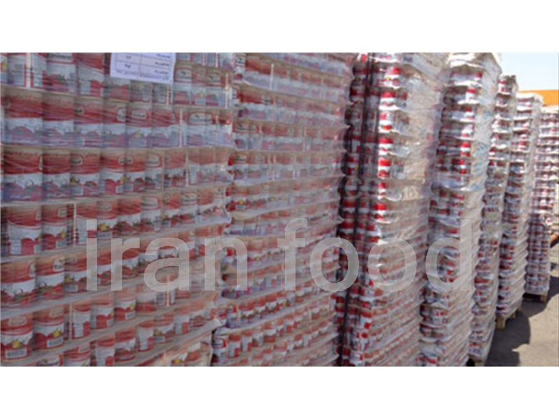 Export Tomato paste with cans