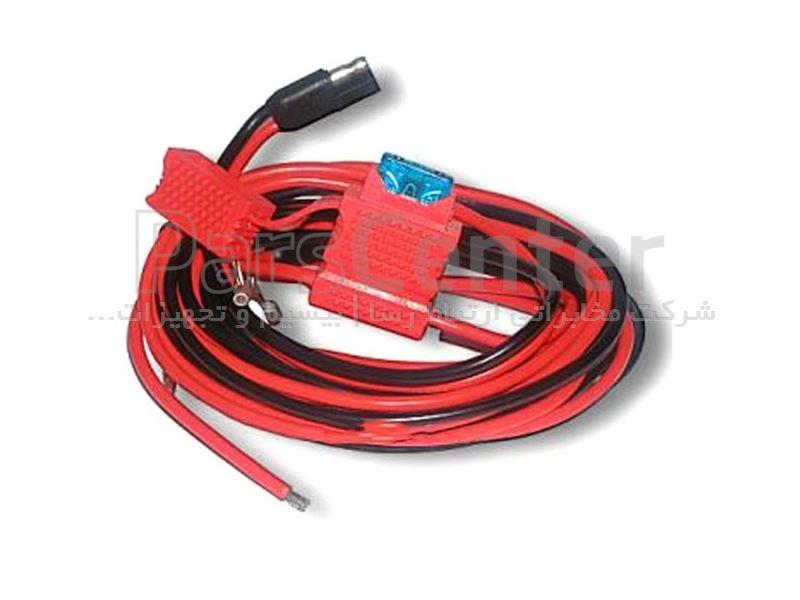 کابل تغذیه بیسیم خودرویی یا ثابت موتورولا مدل HKN4137A