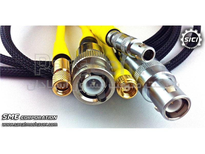 تامین و تعمیر انواع کابل ها و کانکتورهای آلتراسونیک