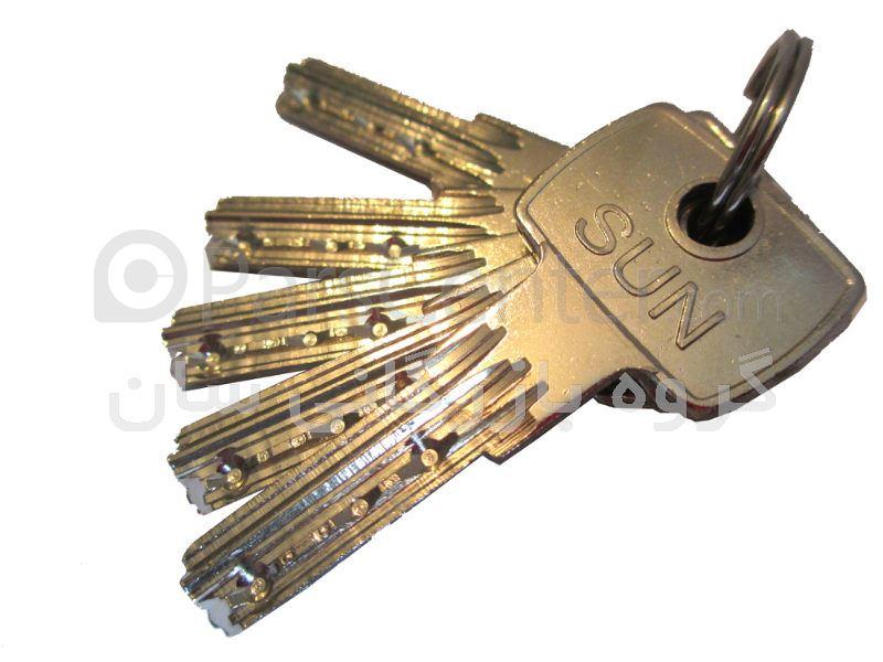 قفل درب حیاطی مدل 1100