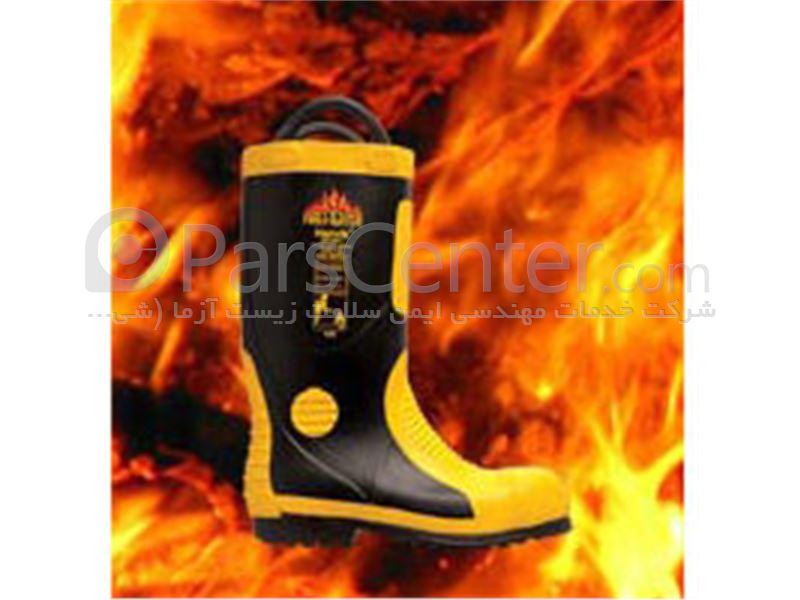 چکمه آتش نشانی پنجه فولادی Harvik