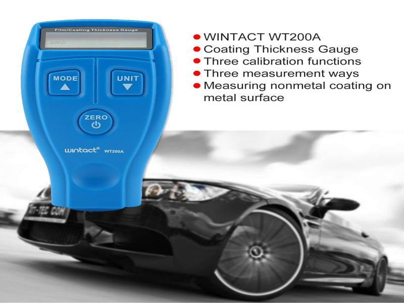 ضخامت سنج رنگ وینتکت مدل WT200A