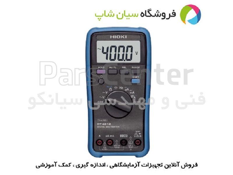 مولتی متر دیجیتال AC/DC مدل HIOKI DT-4212