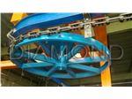 کانوایر هوایی-مونو ریل-کوره رنگ-کوره کانوایر-دستگاه پاشش-کابین ابشار رنگ