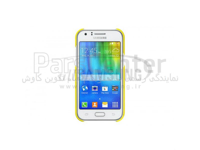 Samsung Galaxy J1 Protective Cover Yellow پروتکتیو کاور زرد گلکسی جی 1 سامسونگ