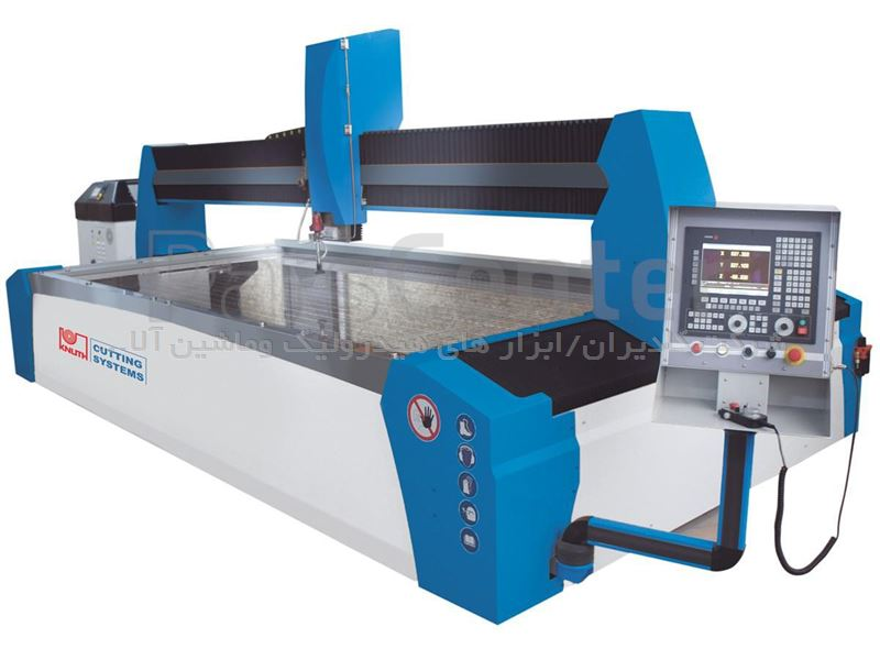 دستگاه واترجت مدل 3015 ساخت کمپانی کنوت آلمان