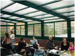 سیستم پوشش سقف متحرک رستوران مدل ال 6   The restaurant El movable roof system