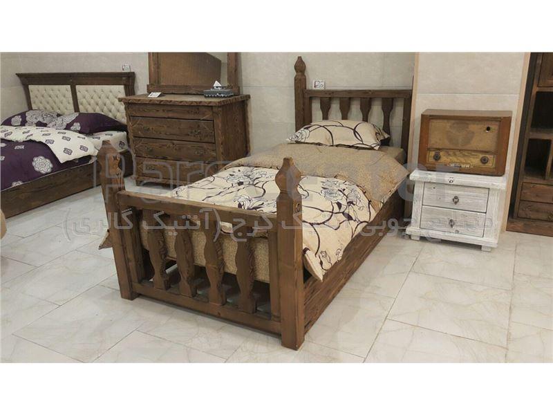 تختخواب یک نفره گالری آنتیک کرج