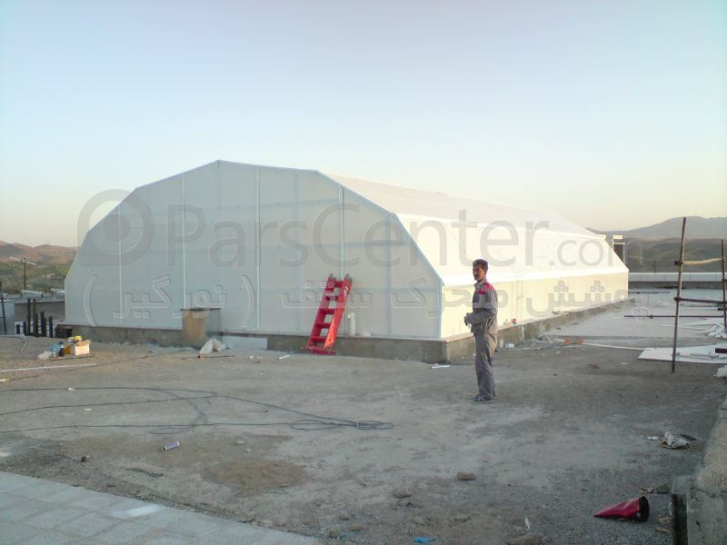 پوشش سقف شهر بازی - مجتمع نور - شهر زنجان