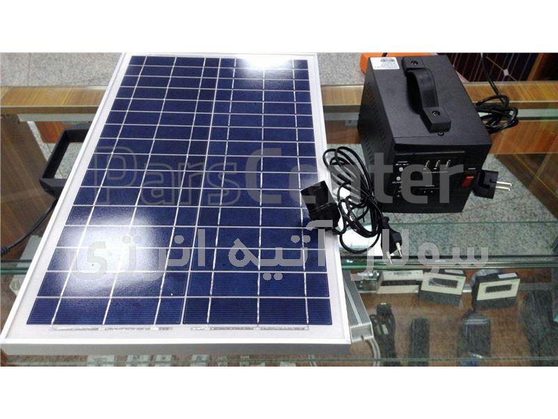 پکیج خورشیدی 24 وات مدل solapalm