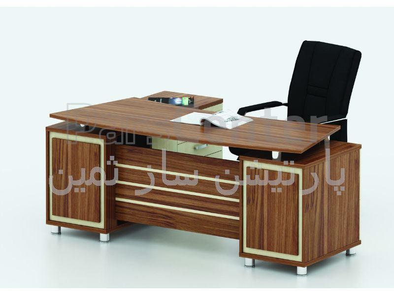 میز مدیریتی ثمین مدل 6386
