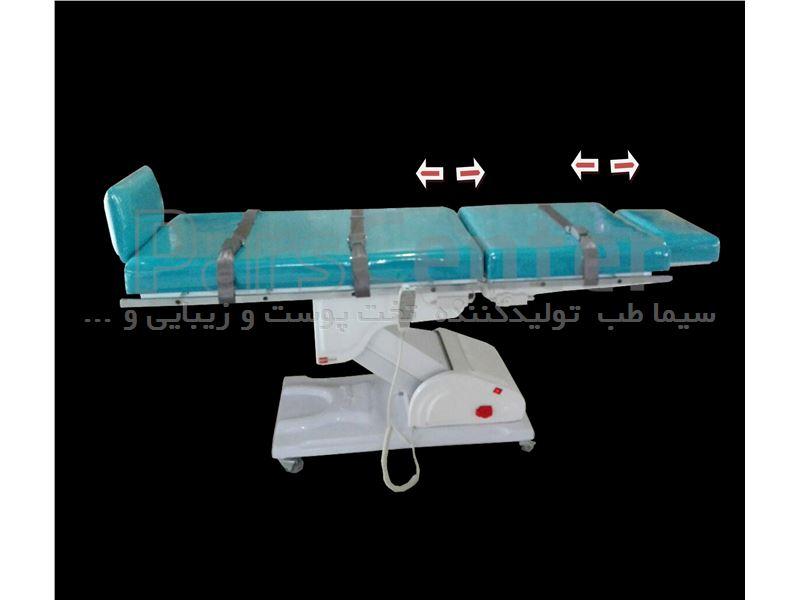 تخت کشش جهت مراکز فیزیوتراپی مدل MB6