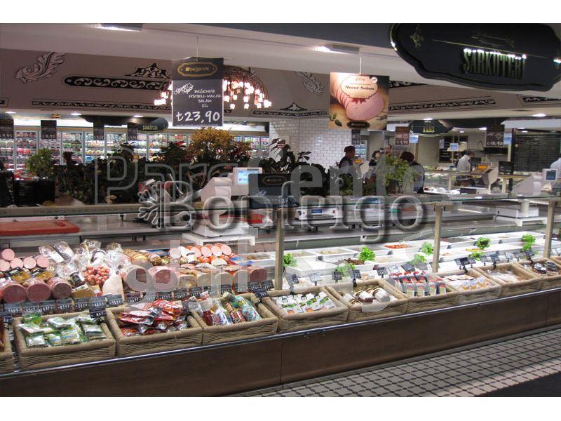یخچال ویترینی فروشگاهی،یخچال هایپر مارکت