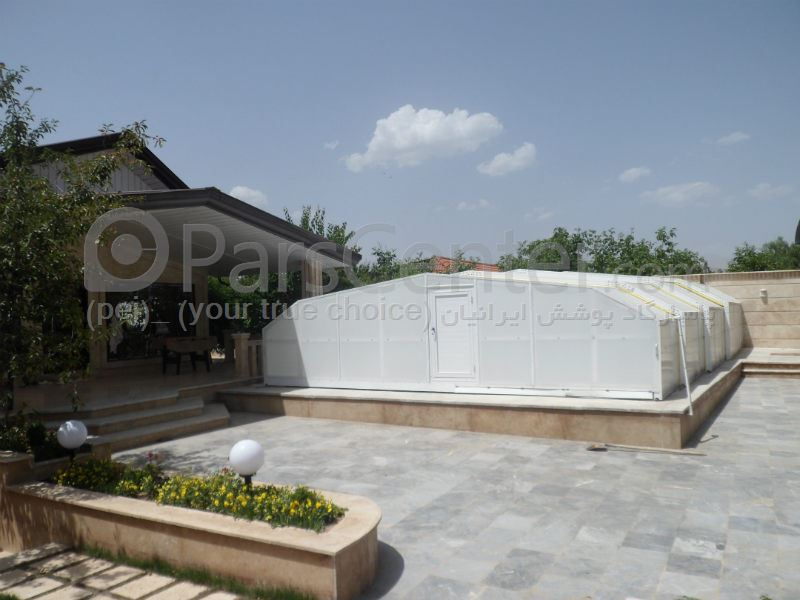pool enclosures  models Zly - پوشش استخر مدل T-  DR2 (سهیلیه کرج )