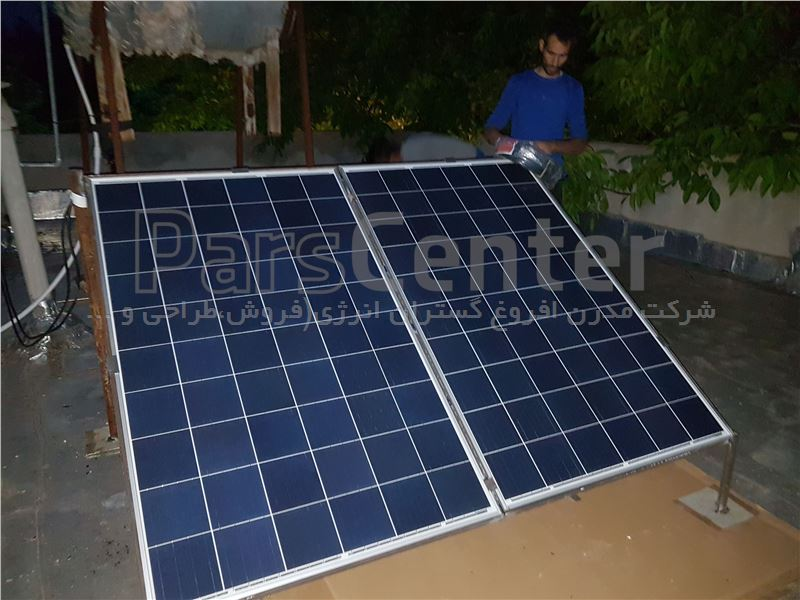 برق خورشیدی خانگی 1000 وات