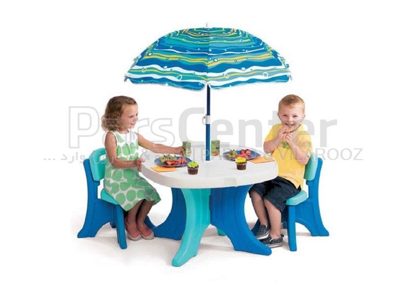 گروه صندلیهای پلاستیکی مهد کودکی پانی