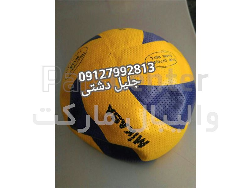 توپ والیبال8 تیکه میکاسا رویه سوزنی با ضخامت 150