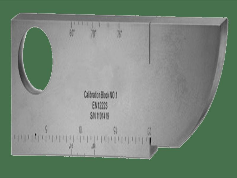 Ultrasonic Calibration , Block testing V1