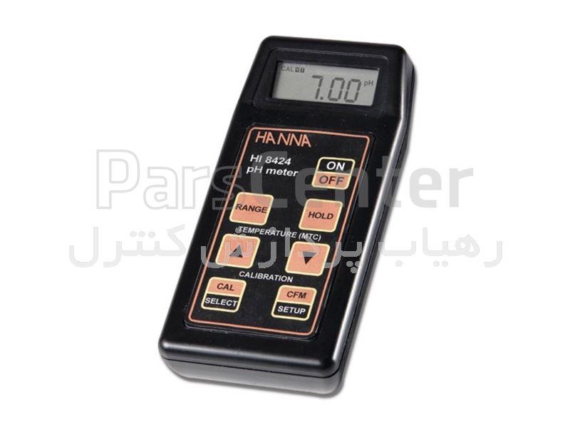 pH متر پرتابل هانا مدل HANNA HI-8424