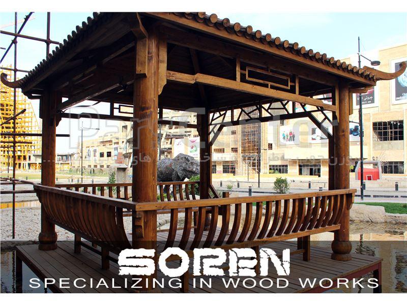 فروش آلاچیق چوبی آپشنال