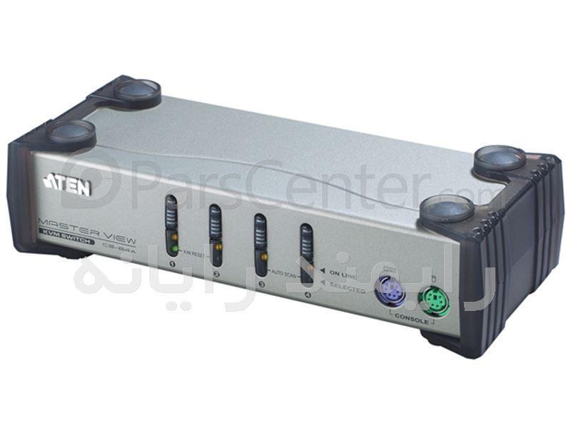 کی وی ام سوئیچ 4 پورت PS2 مدل CS84A - ATEN