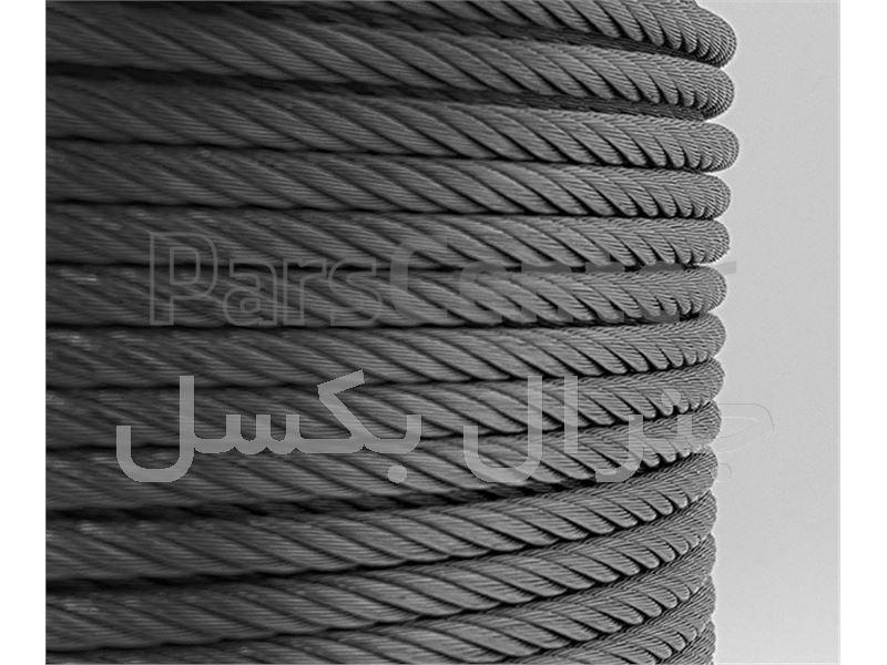 پخش سیم بکسل حفاری 6X19 استاندارد در تهران