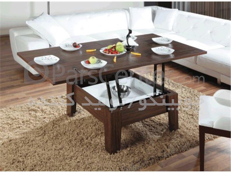 میزهای جلو مبلی تاشو و کمجای چوبینکو