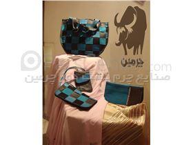 کیف دستی و کیف پول زنانه چرمی ( دست دوز ) کد:125
