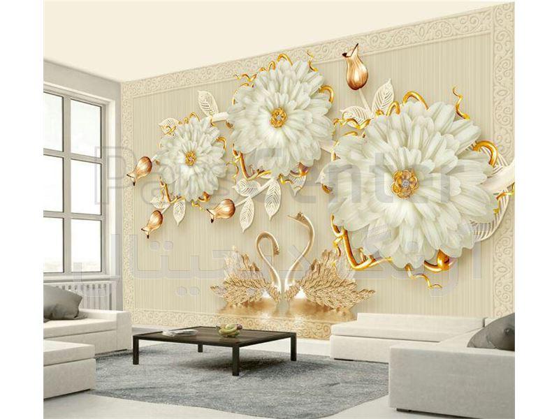 چاپ کاغذ دیواری  با طرح دلخواه در مشهد
