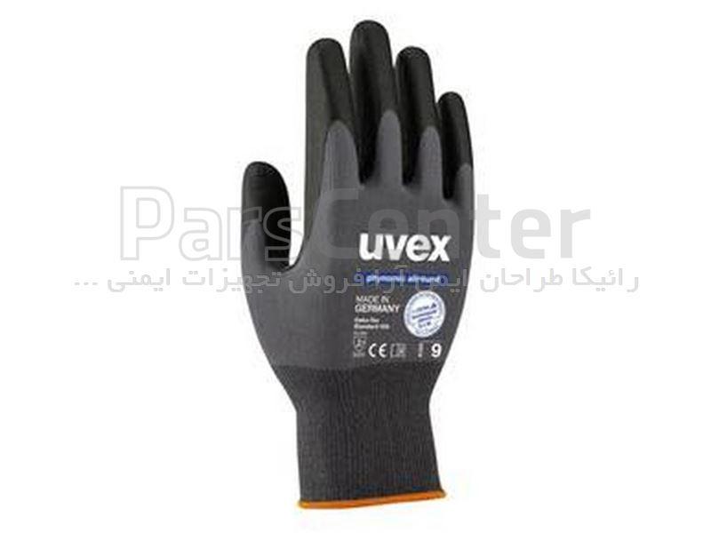دستکش ایمنی مخصوص کارهای دقیق Uvex مدل Phynomic allround