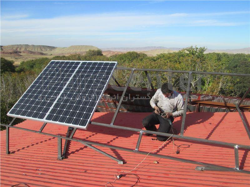 برق خورشیدی خانگی 300 وات