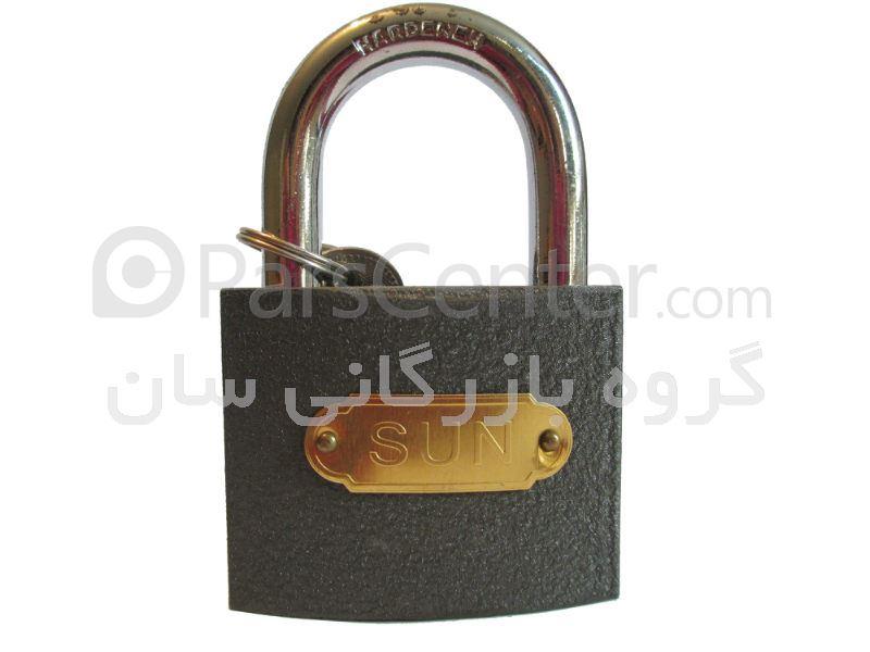 قفل آویز طوسی