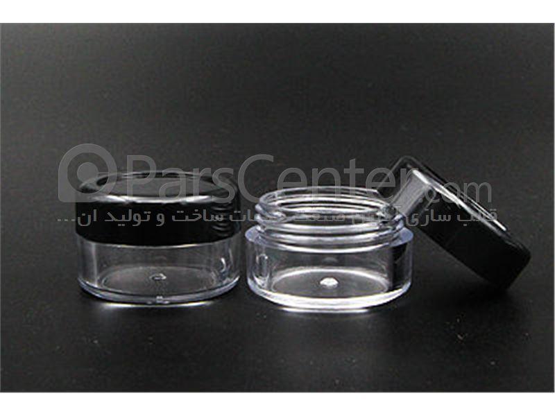 ساخت قالب تزریق پلاستیک انواع ظرف پماد و کرم پودر آرایشی