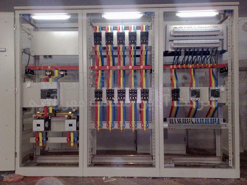 پیمانکاری و ساخت انواع تابلو برق