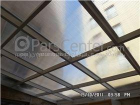 سقف پاسیو  - حیاط خلوت -