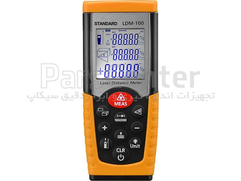 متر لیزری یا فاصله سنج ۵۰ متری ارزان مدل LDM-100