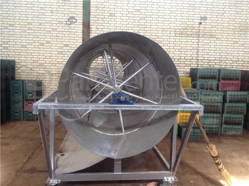 ساخت وفروش سرند دوار به سفارش مشتری
