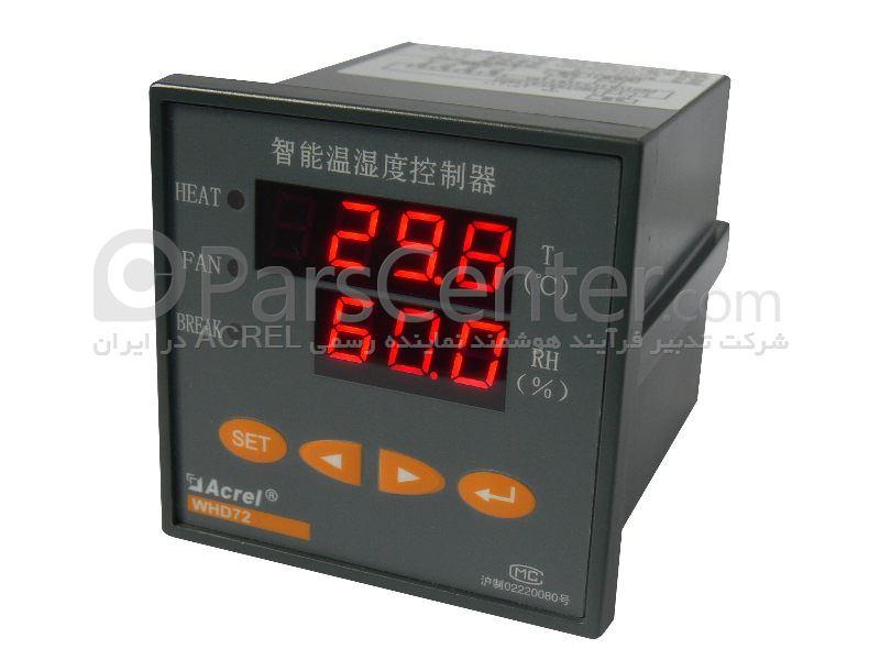 کنترلر دما و رطوبت به همراه یک عدد سنسور