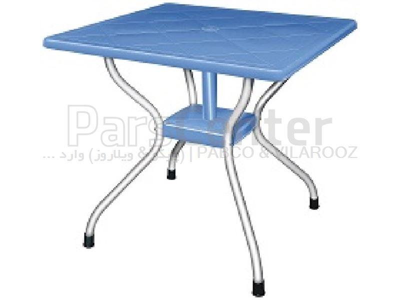 میز پلاستیکی  کد 923. 73×80×80 سانت