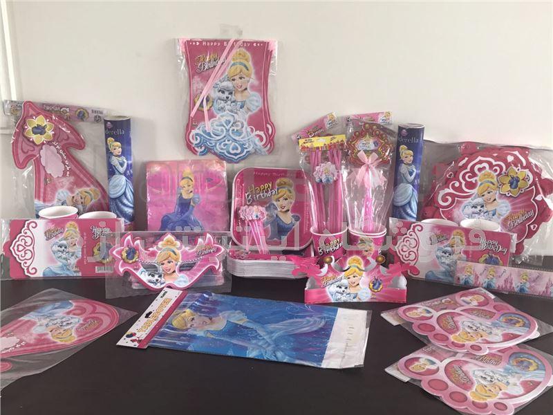 قیمت بنر تولد تم تولد دخترانه سیندرلا - محصولات تزئینات مهمانی در پارس سنتر