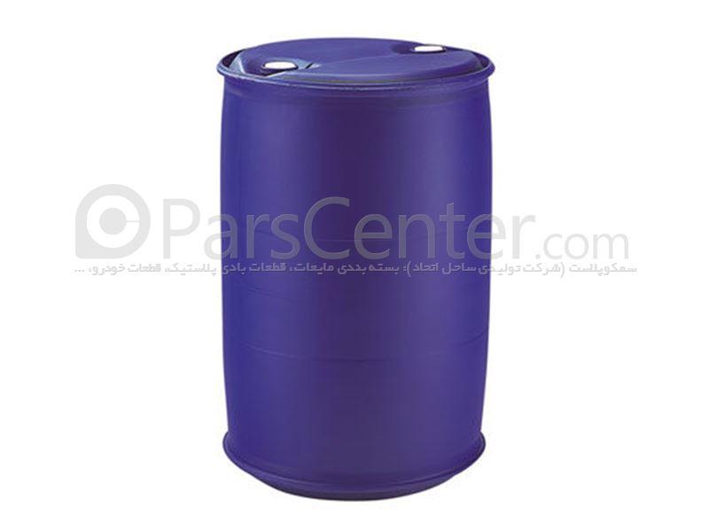 بشکه پلاستیکی 220 لیتری  RING-Lهمراه با درب