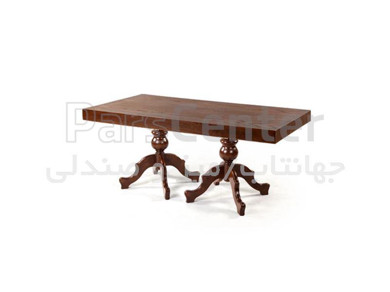 میز چوبی رستوران مدل W76 (جهانتاب)