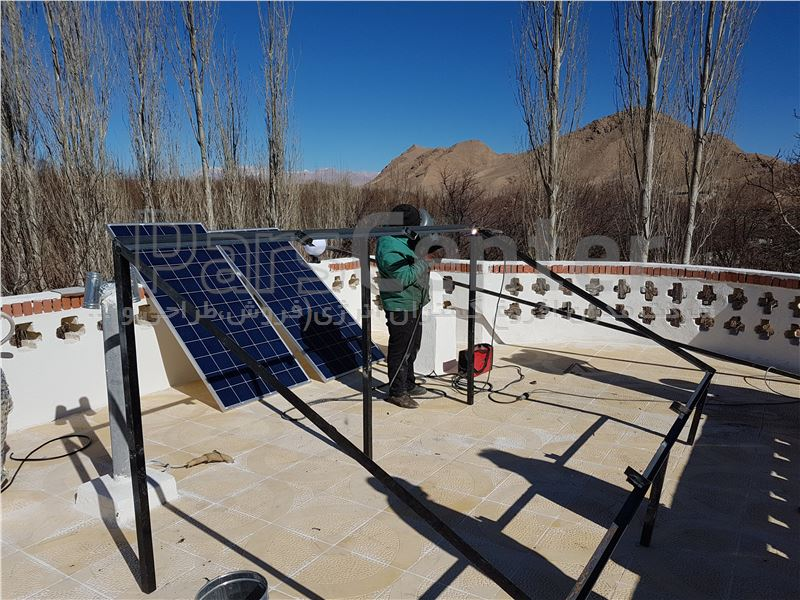 برق خورشیدی 300 وات off grid