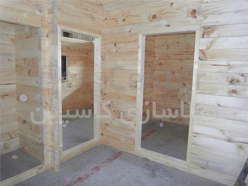 ویلای چوبی نسوز و مقاوم در برابر شریط جوی