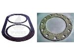 Manhole sealing washer