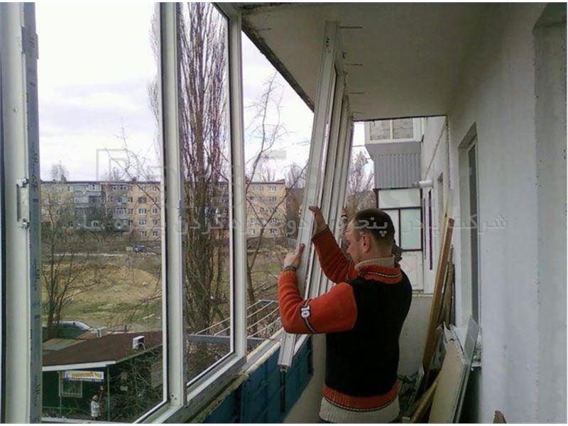 بازسازی پنجره قدیمی