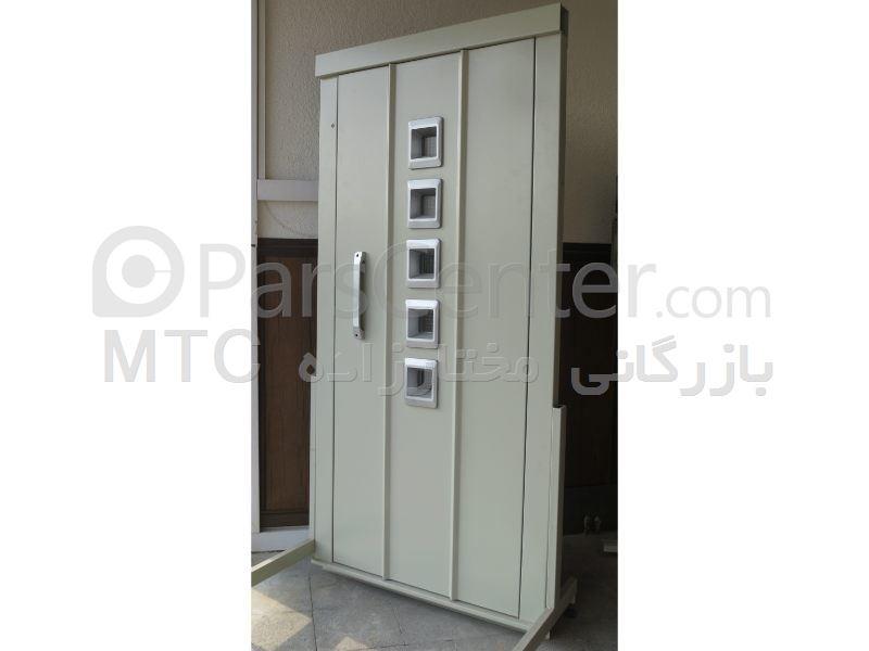 درب لولایی  آسانسور مدل افرا